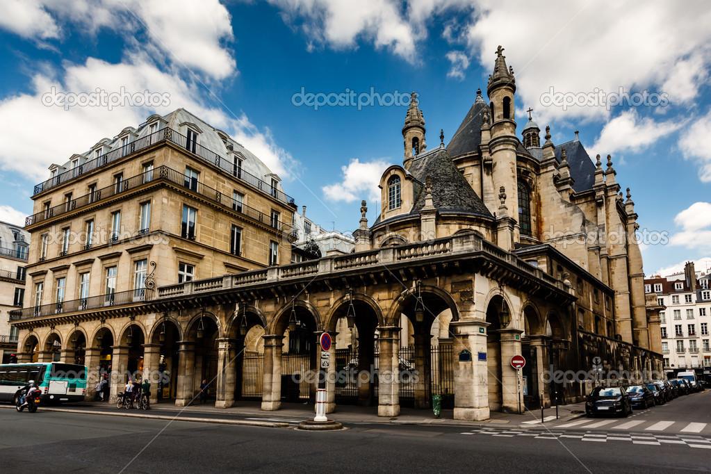 casas histricas en el centro de pars francia u imagen de stock
