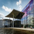 German Chancellery (Bundeskanzleramt) Building near Reichstag in — Stock Photo
