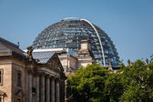 The Roof of Reichstag Building in Berlin, Germany — Stock Photo