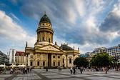 德国大教堂上御林广场在柏林,德国 — 图库照片