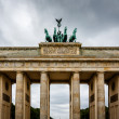 Quadriga on Top of the Brandenburger Tor (Brandenburg Gate) in B — Stock Photo #37365643