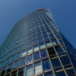 BERLIN - AUGUST 24: Glass Tower at Potsdamer Platz on August 24, — Stock Photo #37365717