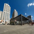 BERLIN - AUGUST 24: The Potsdamer Platz on August 24, 2013 in Be — Stock Photo