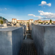 Stock Photo: Jewish Holocaust Memorial in Central Berlin, Germany