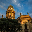 Stock Photo: German Cathedral on Gendarmenmarkt Square in Berlin, Germany