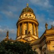 German Cathedral on Gendarmenmarkt Square in Berlin, Germany — Stock Photo #37365945