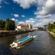 Boat Trip in the Spree River, Berlin, Germany — Stock Photo