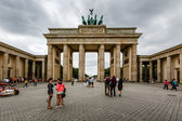 The Brandenburger Tor (Brandenburg Gate) in Berlin, Germany — Stock Photo