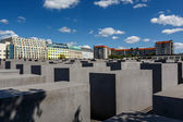 The Jewish Holocaust Memorial in Central Berlin, Germany — 图库照片