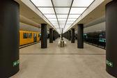 BERLIN - AUGUST 24: Bundestag Subway Station (U-Bahn Station) on — Stock Photo