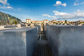 The Jewish Holocaust Memorial in Central Berlin, Germany — Foto de Stock
