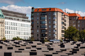 The Jewish Holocaust Memorial in Central Berlin, Germany — Stockfoto