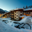 Illuminated Ski Resort of Madonna di Campiglio in the Morning, I — Stock Photo #39413059