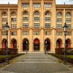 Facade of Government Building of Upper Bavaria at Maximilian Str — Stock Photo
