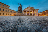 The National Theatre of Munich, Located at Max-Joseph-Platz Squa — Stock Photo