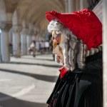 maschera di Carnevale a Venezia — Foto Stock #20289477