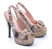 Paar zebra vrouw schoenen — Stockfoto