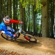 Downhill bike ride — Lizenzfreies Foto