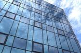 Glass facade of an office building. — Stock Photo