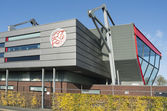 Football Stadium FC IJsselmeervogels. — Stock Photo