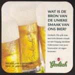 Постер, плакат: Grolsch beer mat