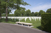 Netherlands American Cemetery and Memorial. — ストック写真