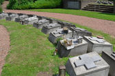 NETHERLANDS - CADIER AND KEER - CIRCA JUNE 2014: Cemetery of the fathers of the Society of African Missions (SMA). Societas Missionum ad Afros. — Stock Photo