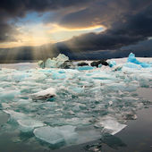 Ice floe — Stock Photo
