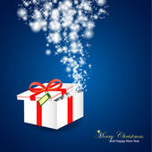 Chistmas gift — Stock Vector
