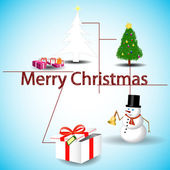 Merry christmas — Stock Vector