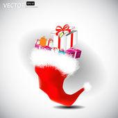 Tampão do natal — Vetorial Stock
