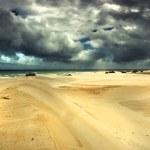 Dramatic desert — Stock Photo