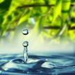 Stock Photo: Water drop