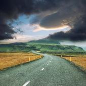 Lång väg — Stockfoto