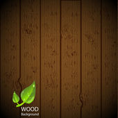 Wood background — Stock Vector