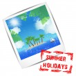 Stock Vector: Summer holidays