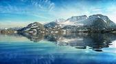 山の湖 — ストック写真