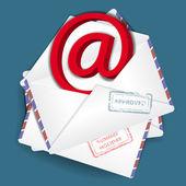 Bussines envelope — Stock Vector