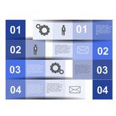 Infographics design — Stock Vector