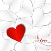 Valentin dag — Stockvektor