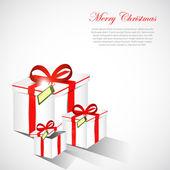Gift background — Stock Vector