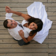 Just Married — Foto de stock #13452670