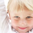 Close-up portrait of a cute little girl — Stock Photo