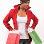Lady Shopping — Stock Photo #8887020
