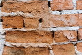 Textured old bricks — Stock Photo