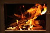 Warm flames — Stock Photo