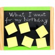 Royalty-Free Stock Photo: Concept for birthday