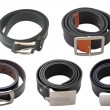 Stock Photo: Collection of belts