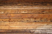 Wood on a cabin — Stock Photo
