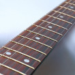 Stock Photo: Electric guitar detail